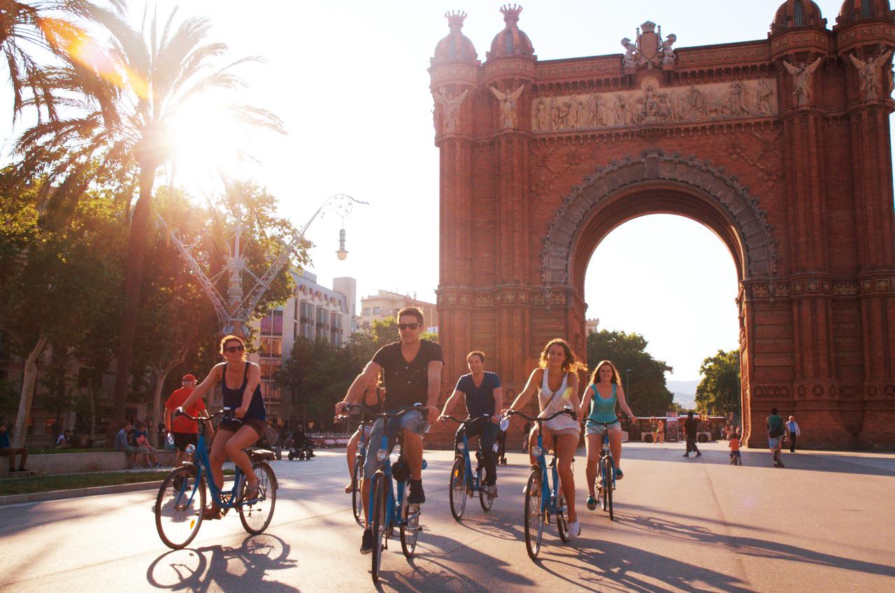 Tour Gotique Modernismo, Arco del Triunfo de Barcelona, Exposición Universal de 1888