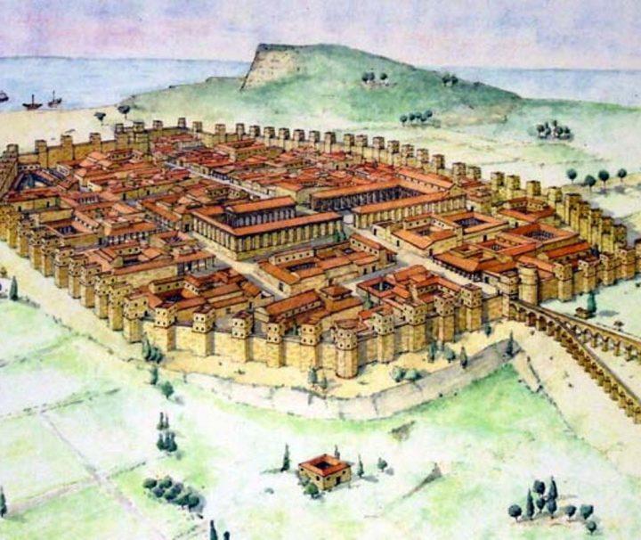Barcino, la Barcelona Romana y Medieval las murallas