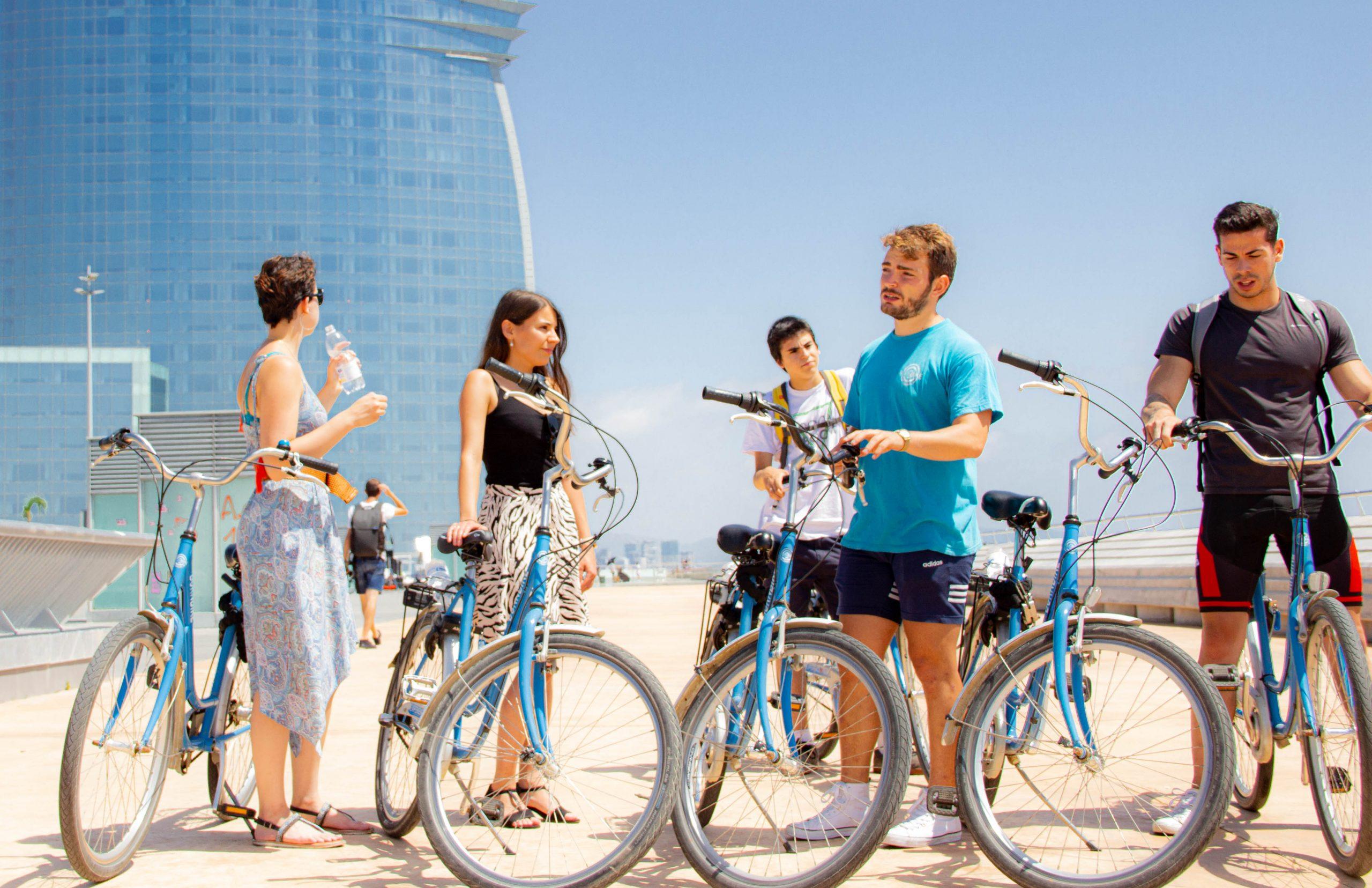 Beach Bike Tour Barcelona, la playa en bicicleta
