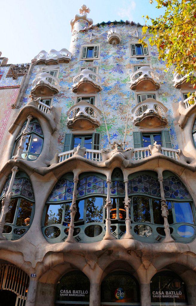 Casa Batlló en Barcelona Antoni Gaudí
