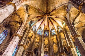 Catedral Santa Maria del mar rutas y visistas guiadas literarias