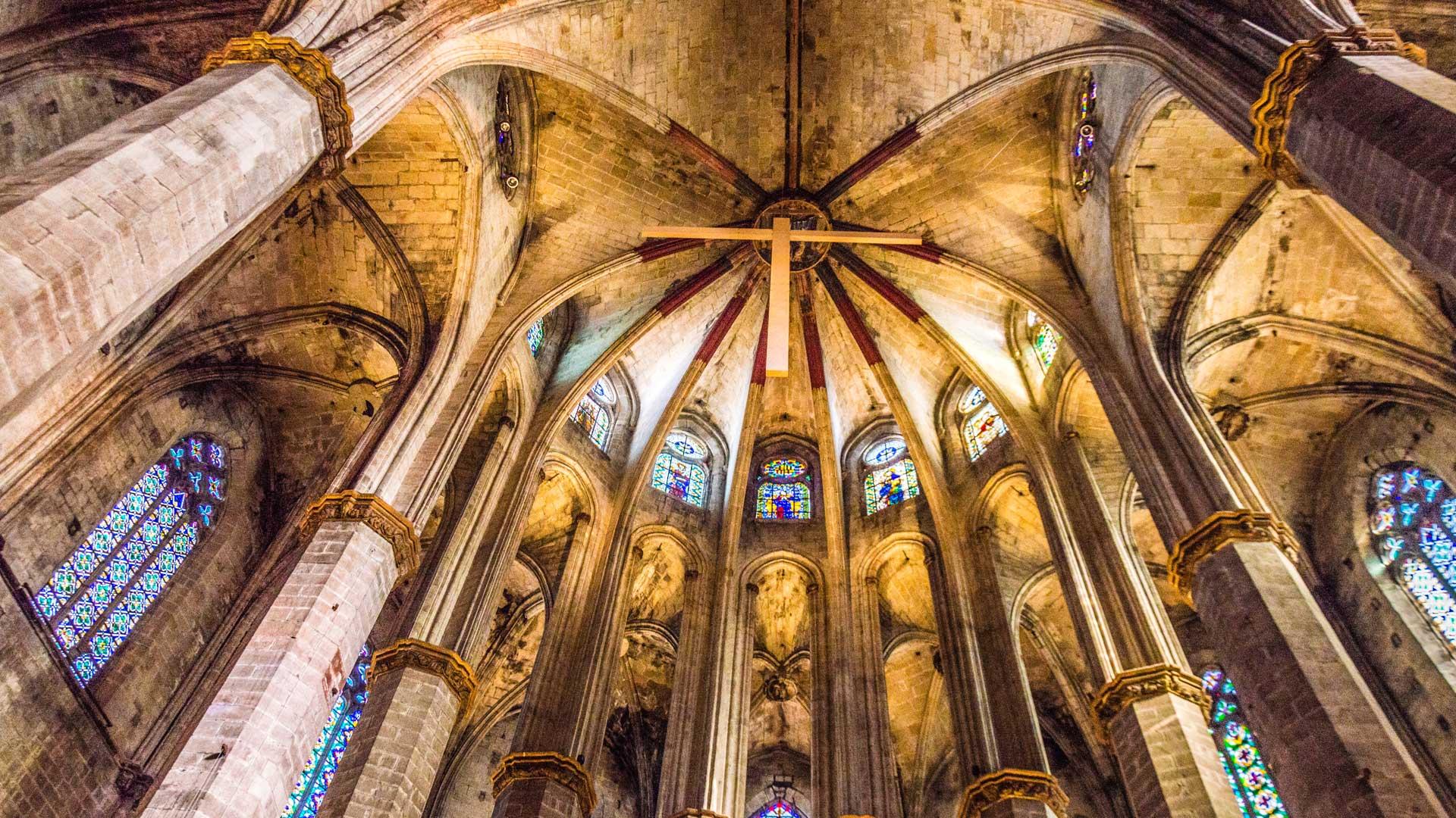 Catedral Santa Maria del Mar, guia turística , visites literàries