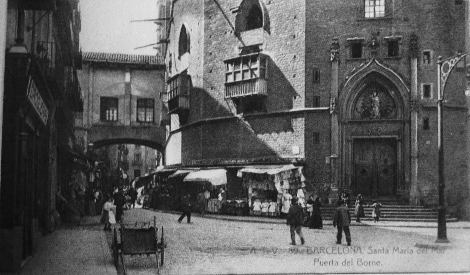 Catedral del mar El Born Barcelona Medieval