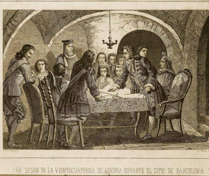 La Barcelona del 1714 Guerra de Sucesión