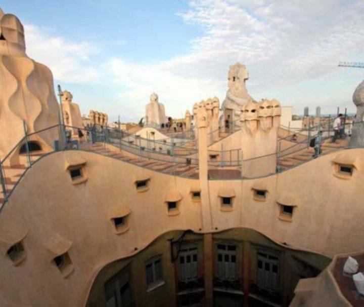 La Pedrera, Casa Milà, Gaudí, modernismo, la Barcelona modernista
