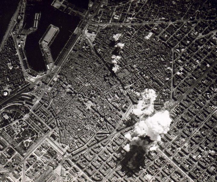 Barcelona Guerra Civil bombardeos