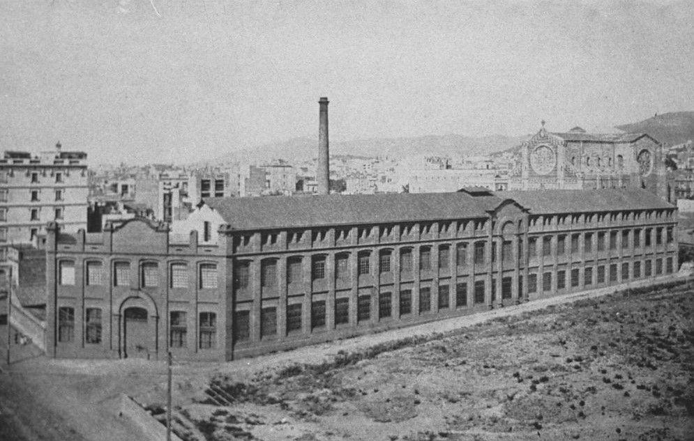 La Revolucion industrial en Barcelona, siglo XVIII, industrialización, política franquista