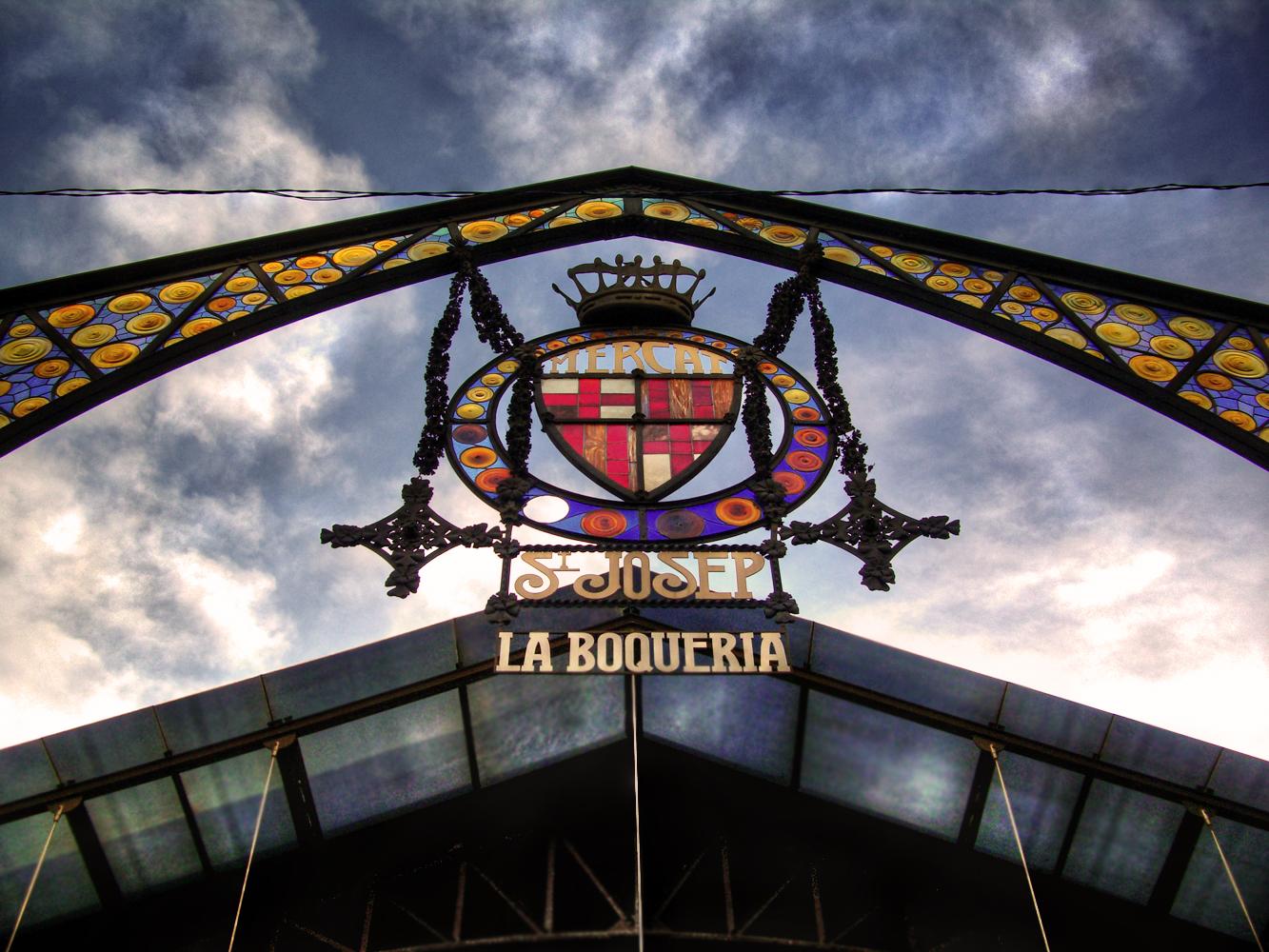 Los mercados de Barcelona la Boquería