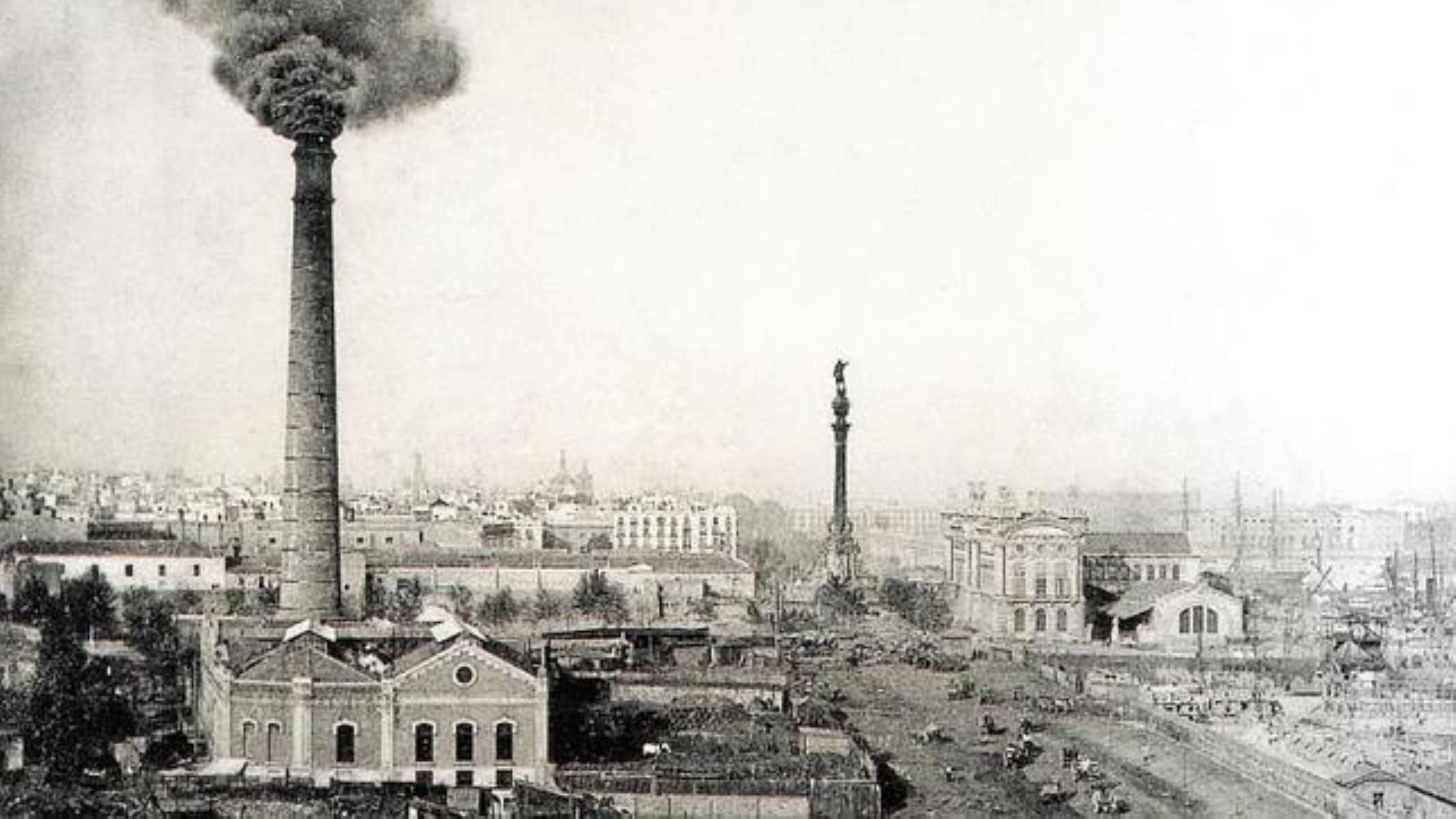 Patrimonio y revolución industrial Barcelona fábricas