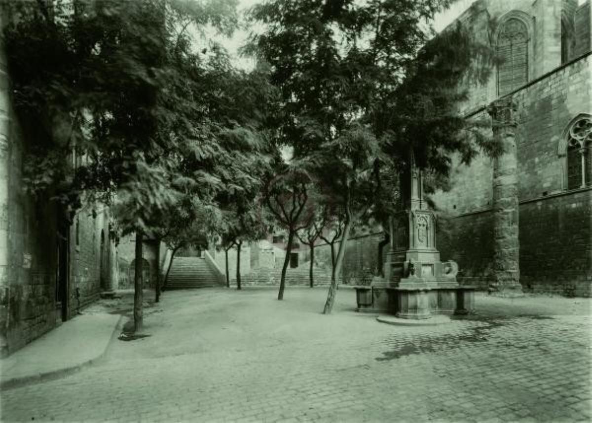 Plaza del Rey, Barrio Gótico de Barcelona, museo de Historia