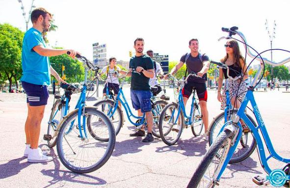 Born Bike Tours Barcelona, rutas y visitas en bicicleta
