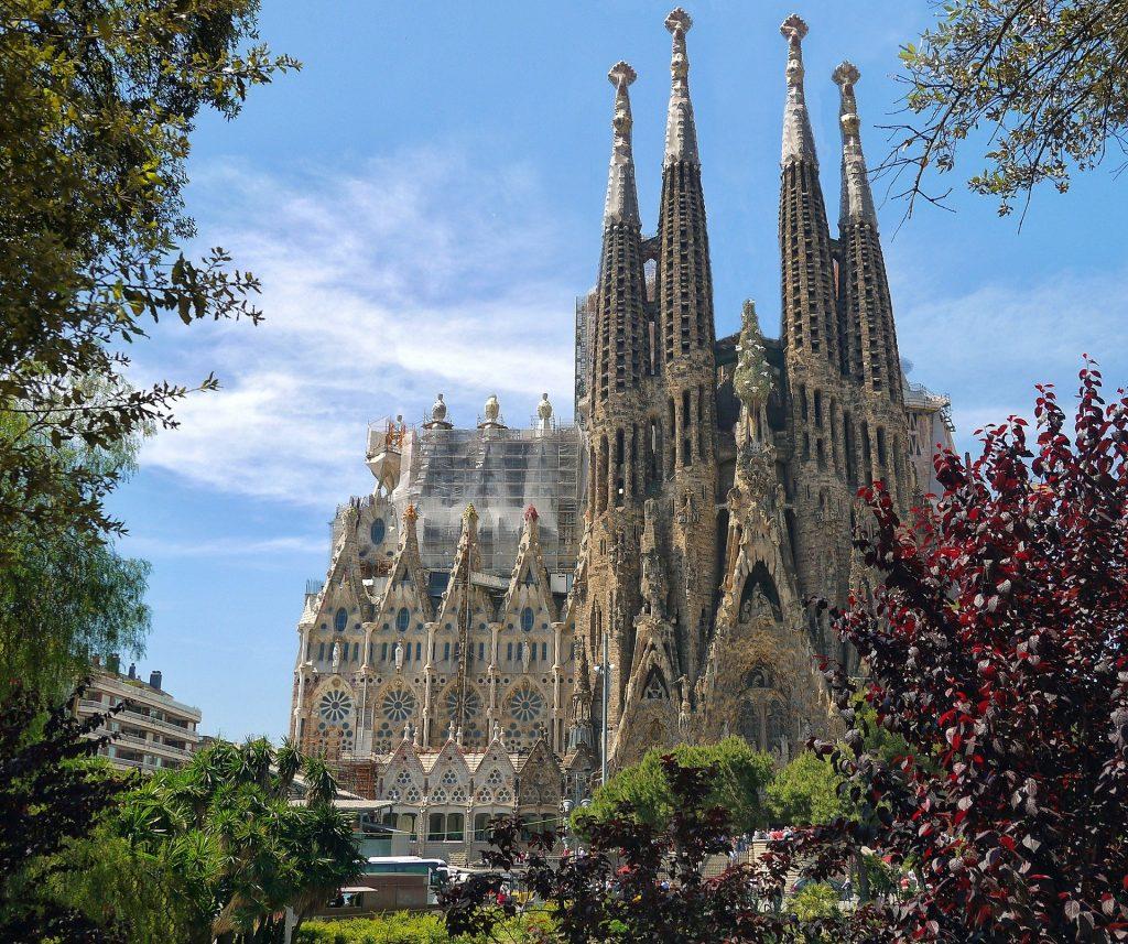 La Sagrada Familia en 2014 el arquitecto más destacado del modernismo