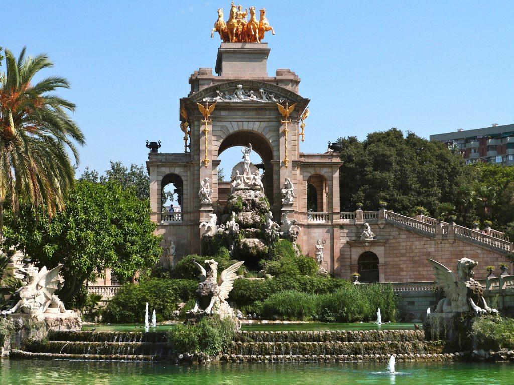 Parc de la Ciutadella en Barcelona
